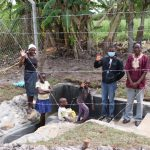 The Water Project: Kalenda A Community, Moro Spring -  Posing At The Spring