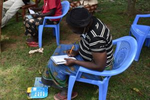 The Water Project:  Taking Notes At Training