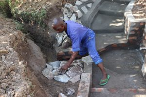 The Water Project:  Setting The Stones For Rub Walls