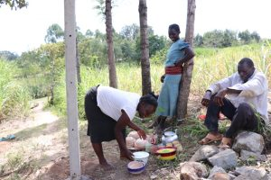 The Water Project:  Women Deliver Lunch For Artisans And Workers