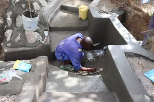 The Water Project:  Plastering The Floor