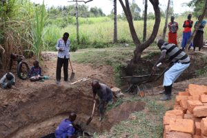The Water Project:  Community Members Helping The Artisan