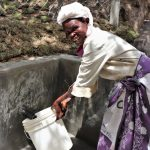 The Water Project: Luyeshe Community, Khausi Spring -  Ma Laban Was Happy