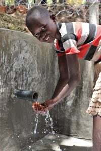 The Water Project:  Enjoying The Flowing Water