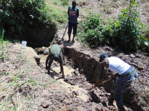 The Water Project:  Excavation For Foundation