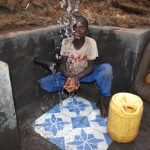 The Water Project: Indulusia Community, Osanya Spring -  Evason Makes A Splash