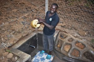 The Water Project:  Wycliffe Osanya Celebrates The Spring