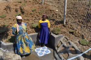 The Water Project:  Women Posing At The Spring