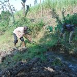 The Water Project: Makhwabuyu Community, Sayia Spring -  Initial Site Clearance