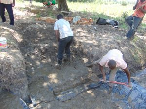 The Water Project:  Setting The Concrete Foundation