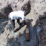 The Water Project: Makhwabuyu Community, Sayia Spring -  Brick Setting