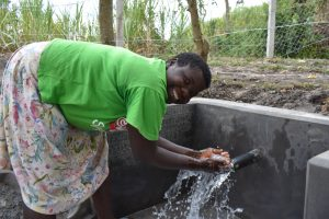 The Water Project:  Irene Celebrating The Spring