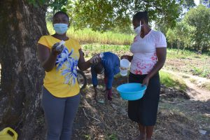 The Water Project:  Jemmimah Stresses Importance Of Soap In Handwashing