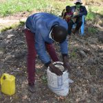 The Water Project: Makhwabuyu Community, Sayia Spring -  Making A Kitchen Garden