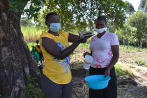 The Water Project:  Trainer Jemmimah Shows Ten Steps Of Handwashing