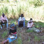 The Water Project: Makhwabuyu Community, Sayia Spring -  Practicing Good Sneezing Habits