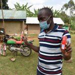 The Water Project: Mukhonje B Community, Peter Yakhama Spring -  Dental Hygiene Session