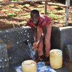 The Water Project: Mukhonje B Community, Peter Yakhama Spring -  Joseph Was All Smiles