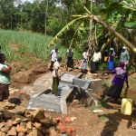 The Water Project: Mukhonje B Community, Peter Yakhama Spring -  Onsite Training At The Underway Spring