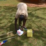 The Water Project: Mukhonje B Community, Peter Yakhama Spring -  Preparing Materials For Tippy Tap Construction And Training