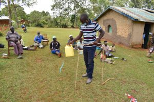 The Water Project:  Victor Shows How To Build A Tippy Tap