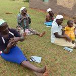 The Water Project: Mukhonje B Community, Peter Yakhama Spring -  Following Handwashing Demonstration