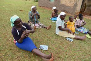 The Water Project:  Following Handwashing Demonstration