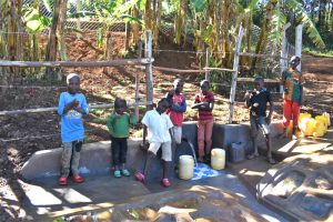 The Water Project:  Kids Posing At The Spring