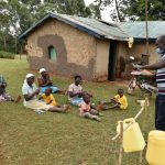 The Water Project: Mukhonje B Community, Peter Yakhama Spring -  Showing The Ten Handwashing Steps