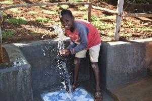 The Water Project:  Splashing Water In Celebration