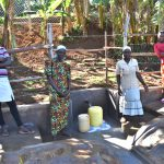 The Water Project: Mukhonje B Community, Peter Yakhama Spring -  Women Posing At The Spring