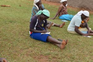 The Water Project:  Women Taking Notes During The Training