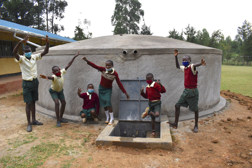 The Water Project : kenya21212-celebrating-at-the-water-point-1