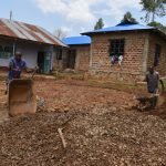 The Water Project: Friends Musiri Secondary School -  Preparing The Rain Tank Foundation