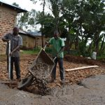 The Water Project: Friends Musiri Secondary School -  Concrete Placement