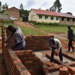 The Water Project: Friends Musiri Secondary School -  Latrine Construction