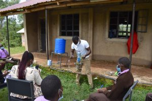 The Water Project:  Kitchen Gardening Demonstration