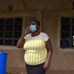The Water Project: Friends Musiri Secondary School -  Patience Njeri Conducting Covid Prevention Training