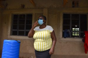 The Water Project:  Patience Njeri Conducting Covid Prevention Training
