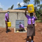 The Water Project: Friends Musiri Secondary School -  Students Collecting Water
