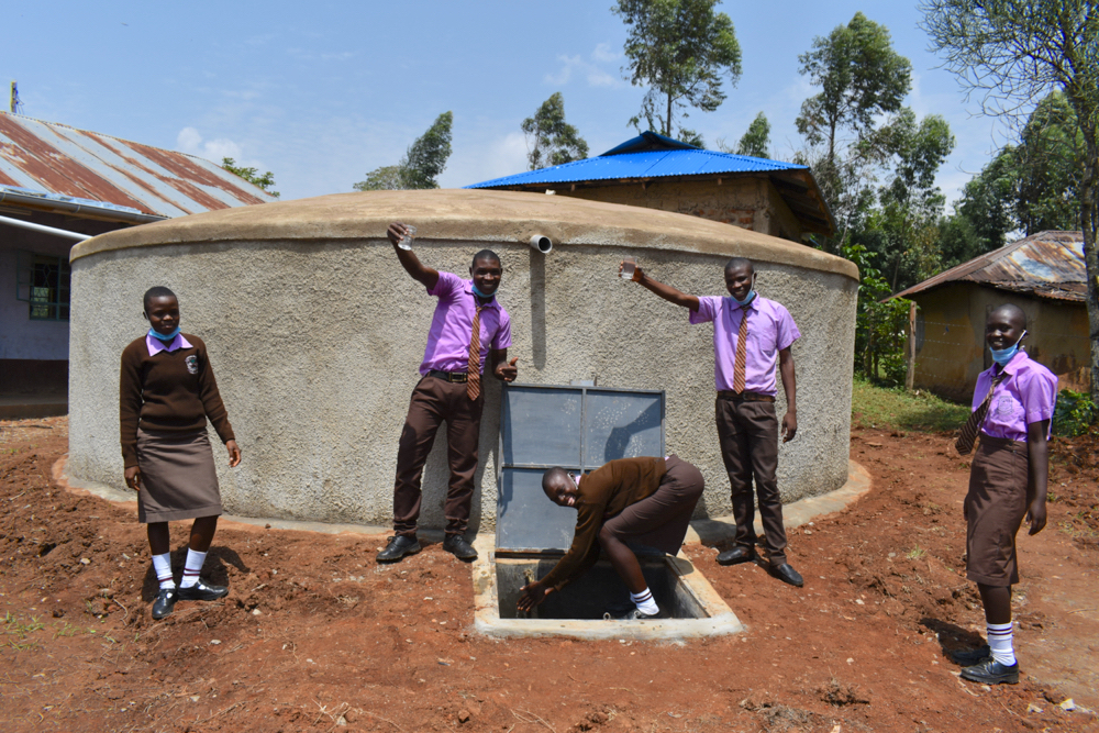 The Water Project : kenya21223-celebrating-the-water-point-4