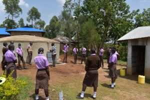 The Water Project:  Training On Tank Maintenance