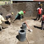 The Water Project: Mwikhupo Primary School -  Plaster Work