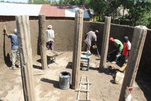 The Water Project:  Plaster And Pillar Works