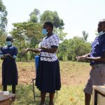 The Water Project: Mwikhupo Primary School -  Following Ten Handwashing Steps