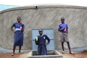 The Water Project:  Posing At The Water Tank