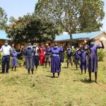 The Water Project: Mwikhupo Primary School -  Demonstrating Contactless Greetings