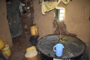 The Water Project:  Water Source In A Nearby Home