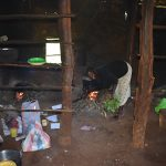 The Water Project: Itieng'ere Primary School -  Cook At Work Inside The Kitchen