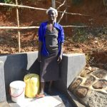 The Water Project: Maraba Community, Shisia Spring -  Doreen Akhaoya Shisia At The Spring